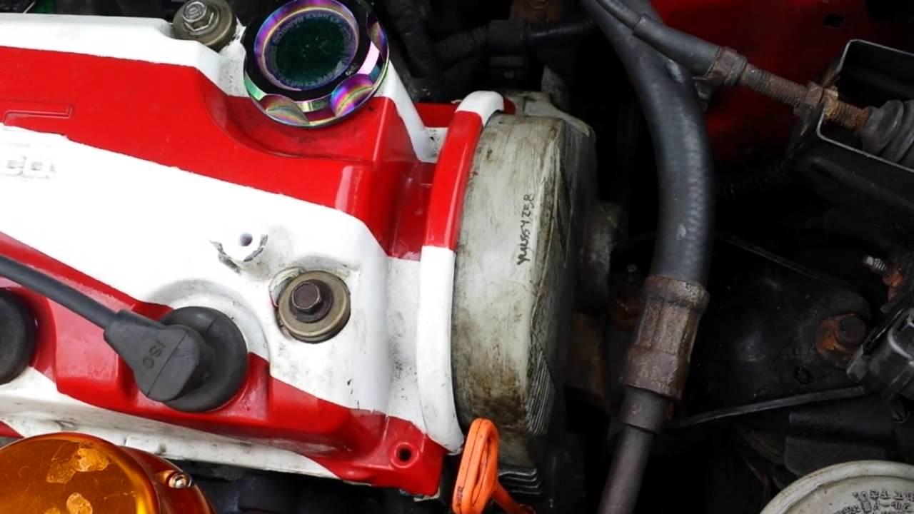 Civic D16Y8 Timing belt noise