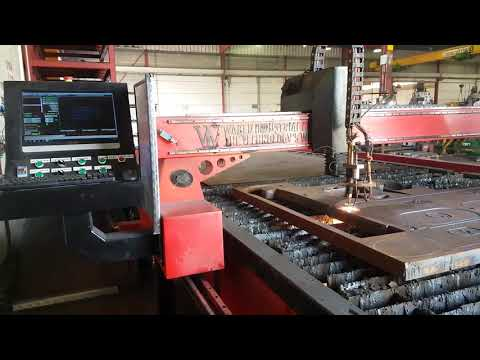 CNC Plasma / Flame! Waked Industrial! Harris! 60mm Mild-Steel! OHC! תעשיות ואכד