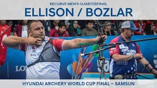 Brady Ellison v Fatih Bozlar – recurve men's quarterfinal | Samsun 2018