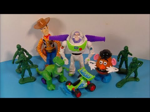 Toy story 1995 toys 1995 disney s toy story set of 6 burger king kid s