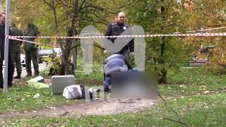 Опубликовано видео с места, где была убита следователь Евгения Шишкина в Москве