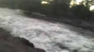 en el rio de san blas la bocatoma