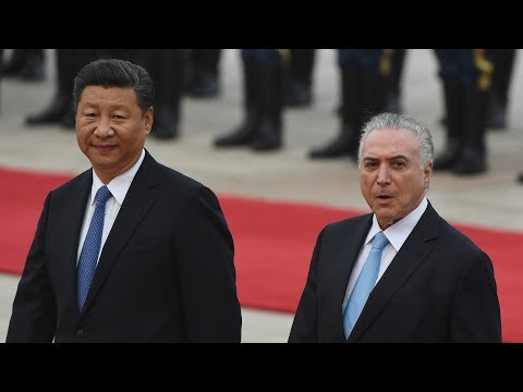 President Xi holds welcome ceremony for Brazilian president