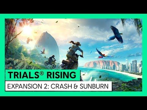 TRIALS® RISING - CRASH & SUNBURN TRAILER