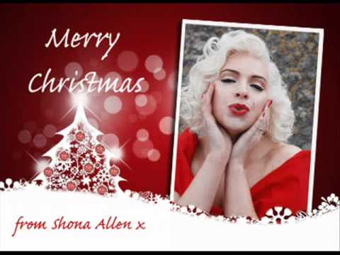 Santa Baby Marilyn Monroe Style Sung By Shona Allen YouTube