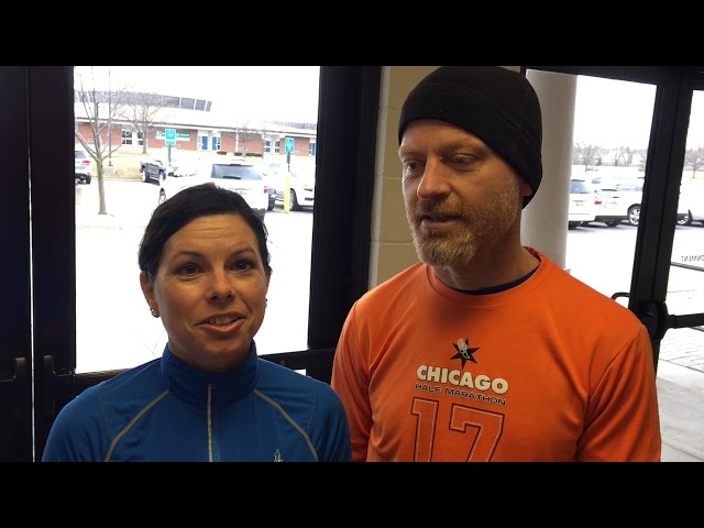 Saginaw husband-wife team talks about Boston Marathon plans