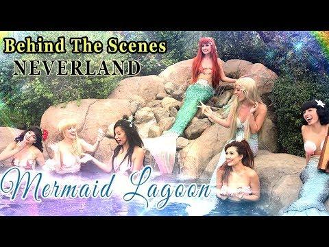 Recreating Mermaid Lagoon From Peter Pan Neverland BTS