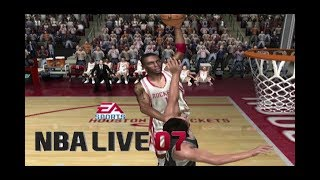 Playing NBA LIVE 07 in 2019 (XBOX)