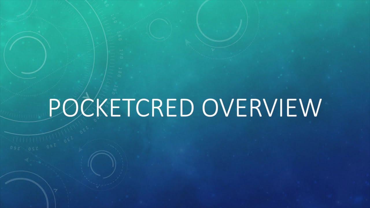 PocketCred Videos