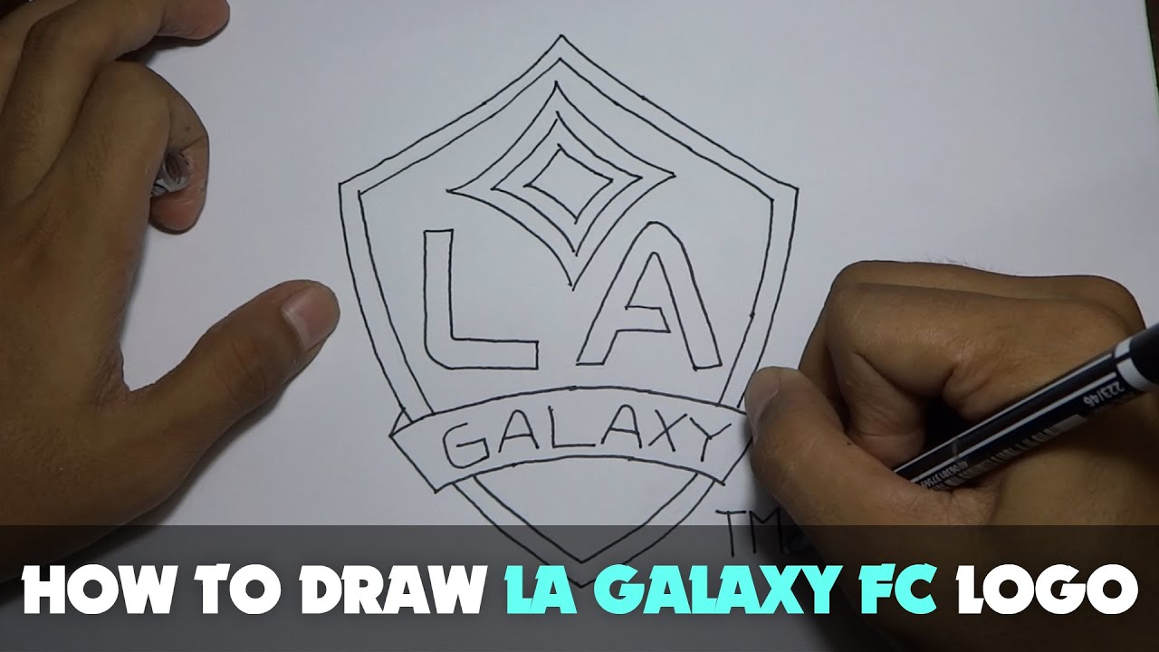 Drawing how to draw a cartoon la galaxy logo tutorial step by drawing how to draw a cartoon la galaxy logo tutorial step by step youtube sciox Gallery