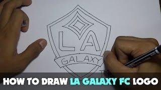 Drawing: How to Draw a Cartoon - LA Galaxy Logo (Tutorial Step by Step)