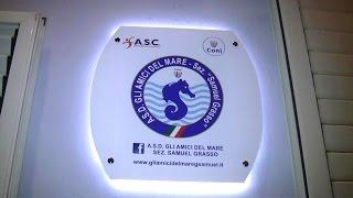 """Inaugurazione della Sede Sociale A.S.D. gli Amici del Mare sez. """"Samuel Grasso"""""""