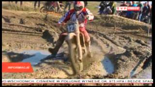 Puchar Polski Super Enduro 2012 - IV Runda Tor Chełmce [materiał TVP KIELCE] część 1