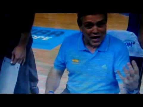 Mike Fratello - Ukraine vs Croatia - Eurobasket2013