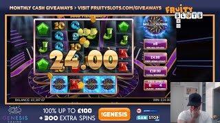 Sunday Slots & Casino With Josh - Millionaire, Great Albini & More!