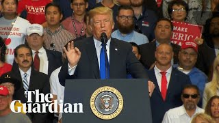 Trump says Kavanaugh has an impeccable reputation