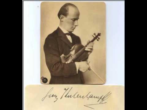 Georg Kulenkampff - Ludwig Spohr's Concerto No. 8