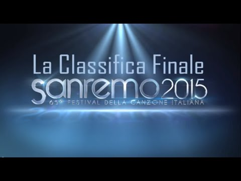 Sanremo 2015: La Classifica Finale