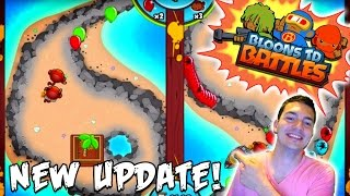BTD Battles - NEW ARENA MODE GAMEPLAY!