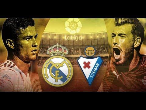 REAL MADRID Vs EIBAR | EN VIVO
