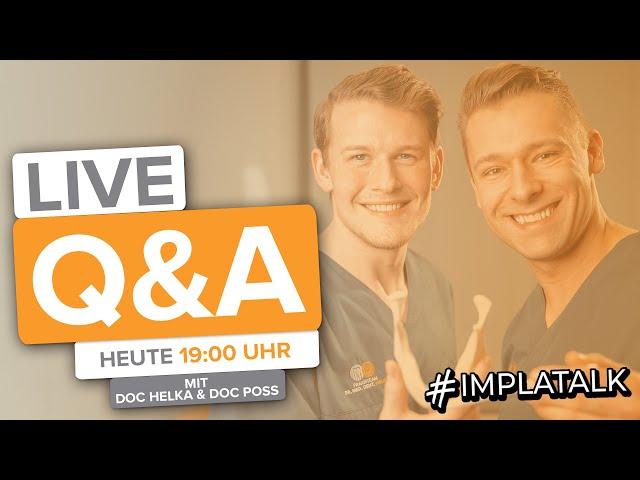 Live Q&A mit Doc Helka & Doc Poss! Letztes Q&A vor 10000 abos? 😱