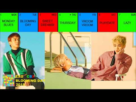 [FULL ALBUM/MP3] EXO - CBX - BLOOMING DAY