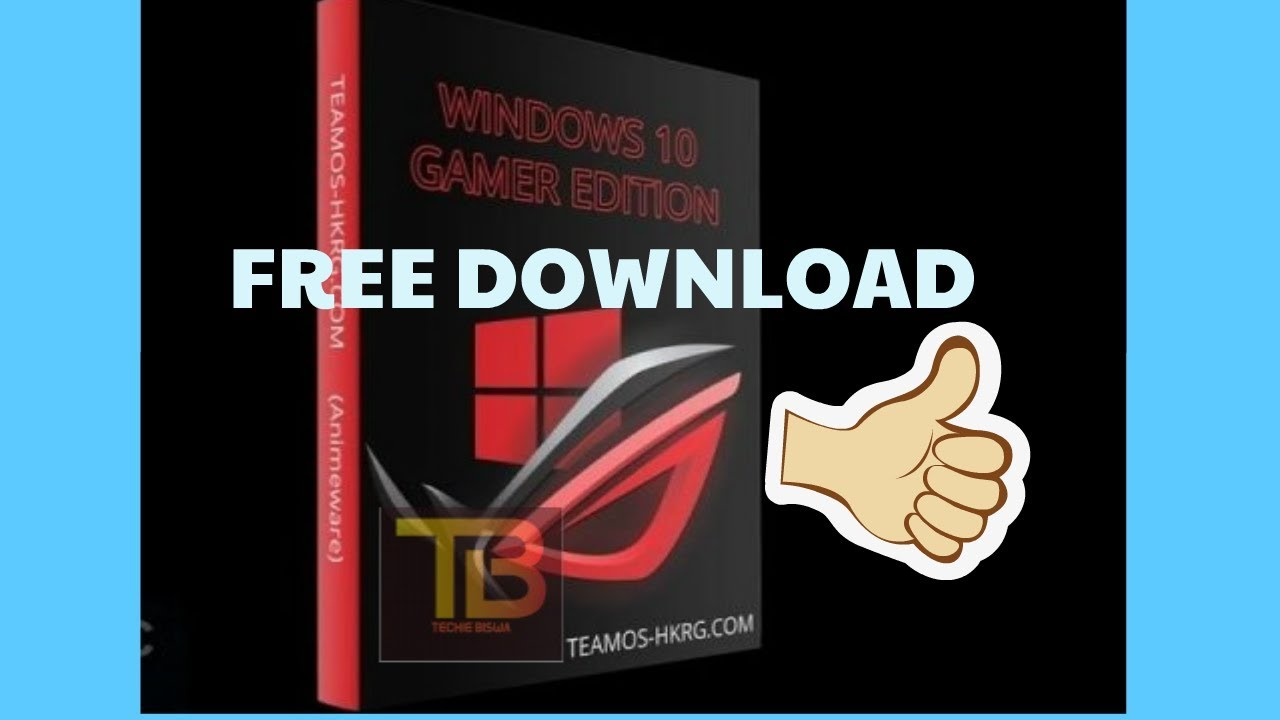 Free Download Windows 10 Lite Edition 64bit ISO For Gamers