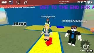 Roblox parkour part 2 (feat adit dan faruq)