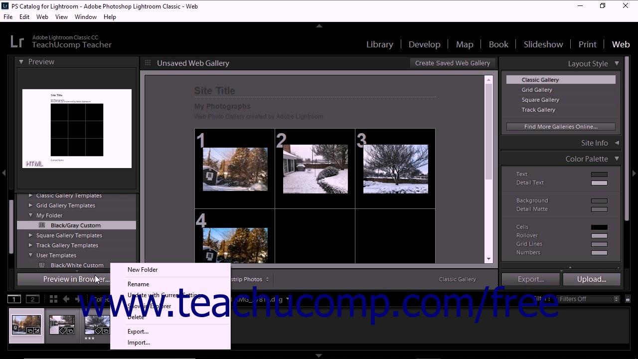 Adobe lightroom web gallery templates codebluesolutions. Com.