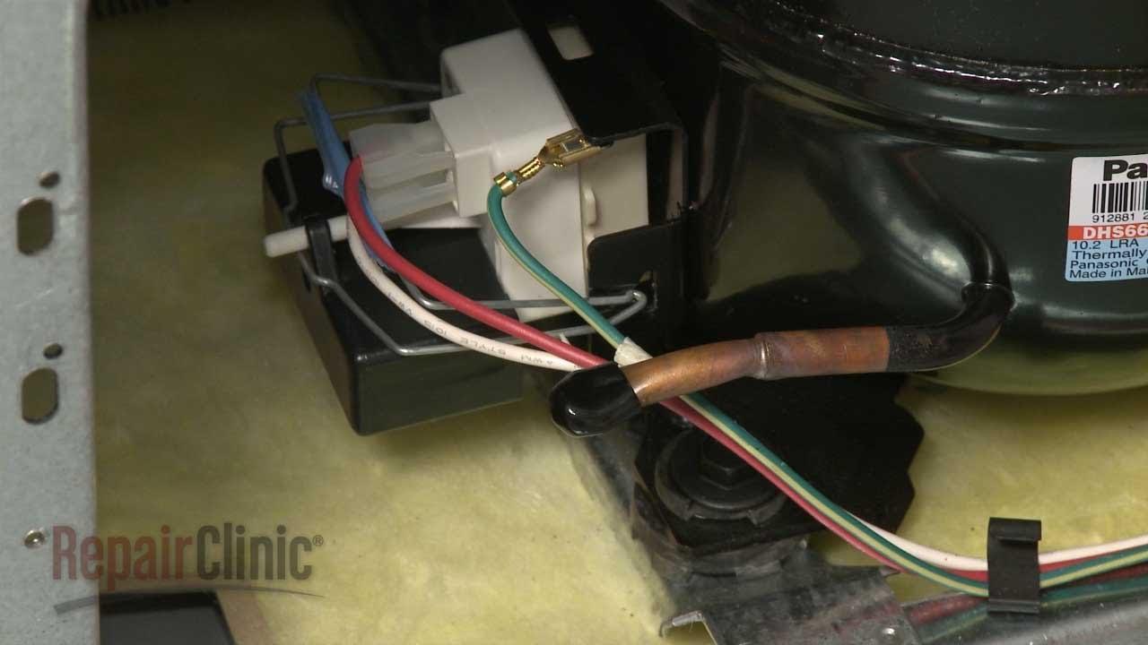 Refrigerator Run Capacitor Replacement – Whirlpool