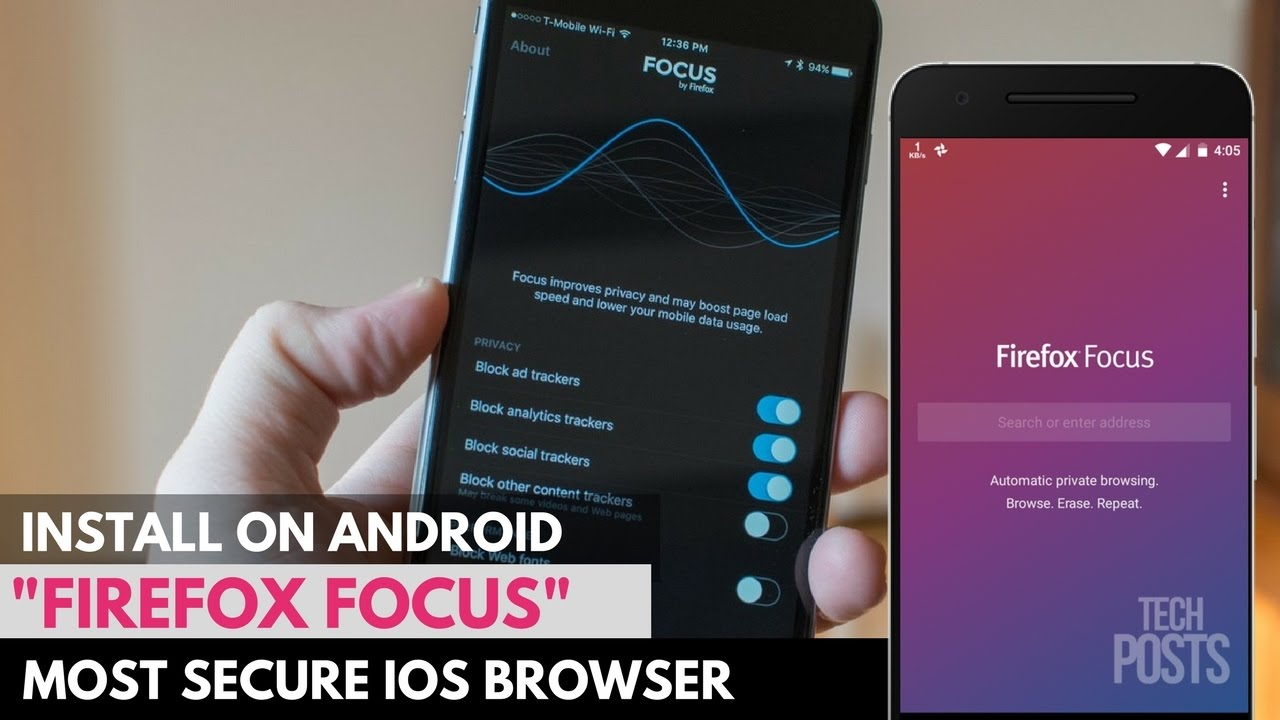 Firefox Focus - Fastest & Most Secure Android/iOS Web Browser by Firefox