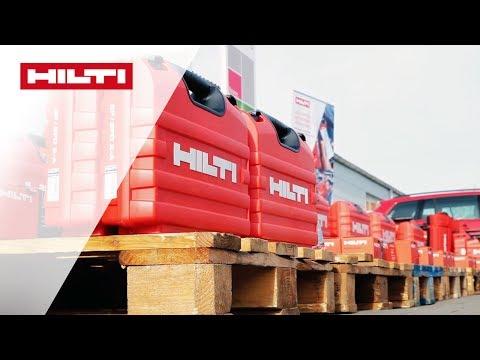 VORSTELLUNG des Hilti Flottenmanagement Service bei Swisslog - Flottenübergabe