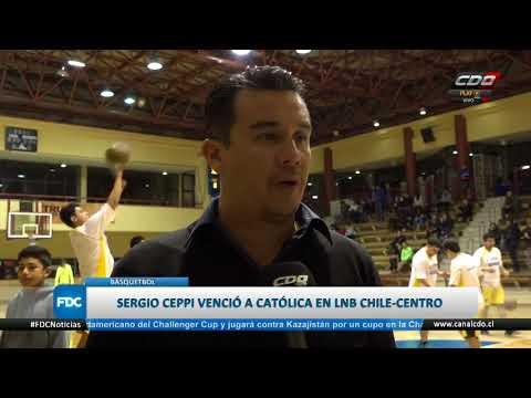 C.D. Sergio Ceppi derrotó a la UC en la 2° fecha de LNB Chile Centro