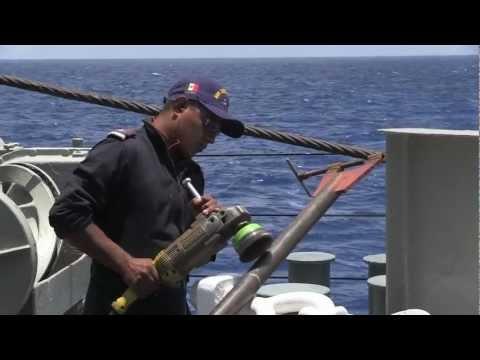 Mexican Navy Ship Usumacinta Underway Near Hawaiian Islands - RIMPAC 2012