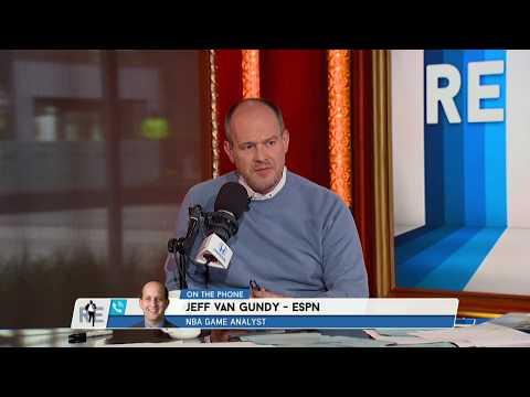 ESPN's Jeff Van Gundy Breaks Down the Warriors' Game 1 Dominance