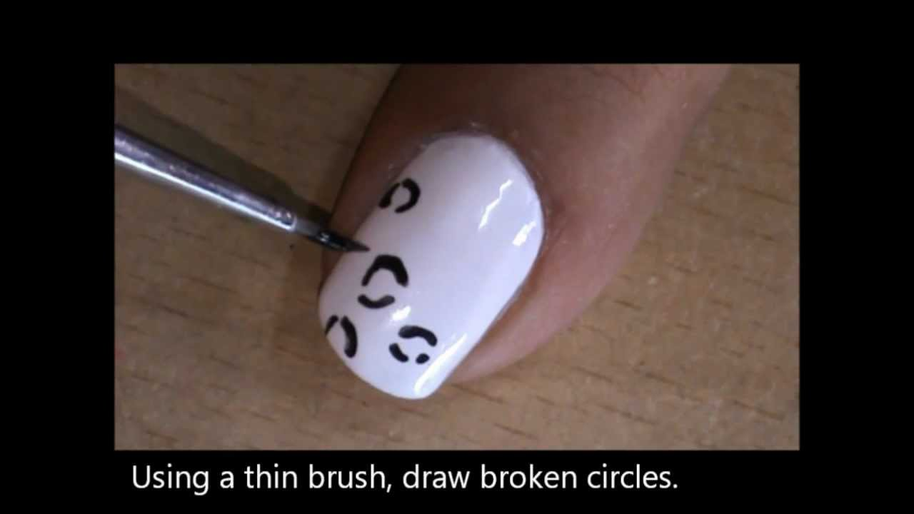 Leopard nail art designs tutorial youtube prinsesfo Choice Image