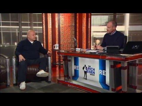 """Gotham"" Actor Michael Chiklis Talks Patriots on The Rich Eisen Show - April 11, 2016"