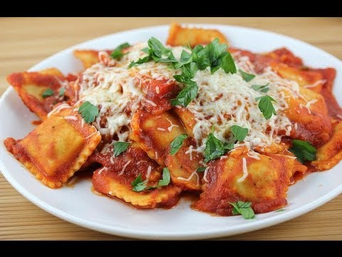Recipe – Home Made Ravioli Recipe With English Subtitles