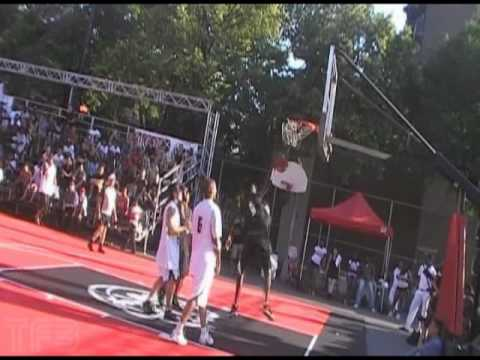 TFB::Justin Darlington One of the BEST IN GAME DUNK EVER?! At Urban Jam Celebrity Game in Montreal