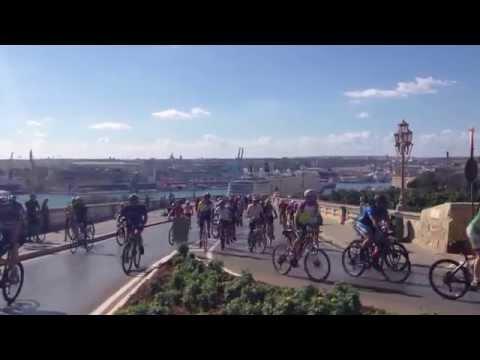 President's Bike Ride 2014 - Bicycles Glormu Cassar Avenue Valletta