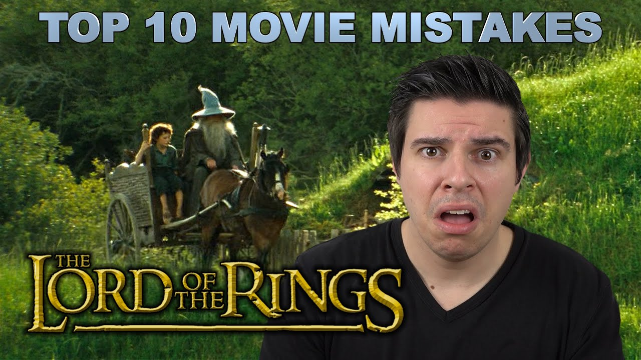 Lord of the rings movie goofs