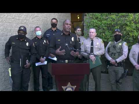 Sheriff Villanueva & LACO FD Chief Osby Discussed Traffic Collision in Rancho Palos Verdes