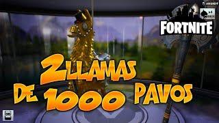#Fortnite COMPRO 2 LLAMAS ESPECIALES DE 1000 PAVOS!
