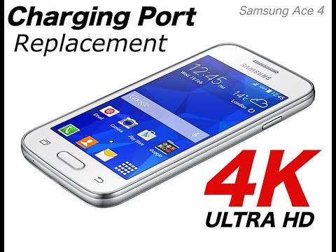 Repair charging connector Samsung Galaxy Ace 4