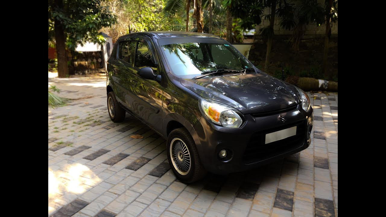 Alto 800 granite grey the best hatchback in india