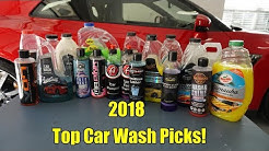 2018 Top Car Wash Picks!