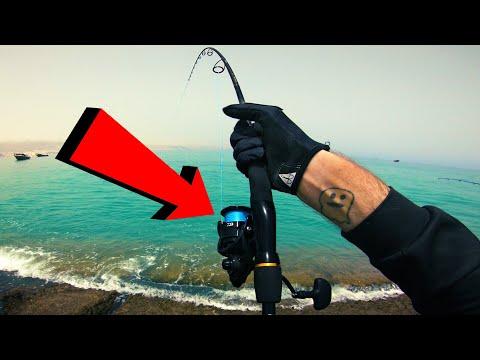 Painfully Light Tackle VS Big Fish