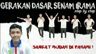 Download lagu SENAM IRAMA - GERAKAN DASAR (Langkah Kaki, Gerakan Tangan & Kombinasi) | Praktek Penjaskes #3