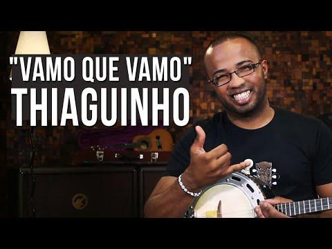 Thiaguinho - Vamo Que Vamo (como tocar - aula de banjo e cavaquinho)