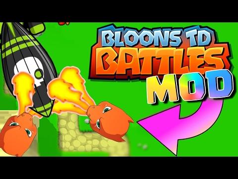 NEW POKEMON TOWER MOD!!! Bloons TD Battles Mods  Skin